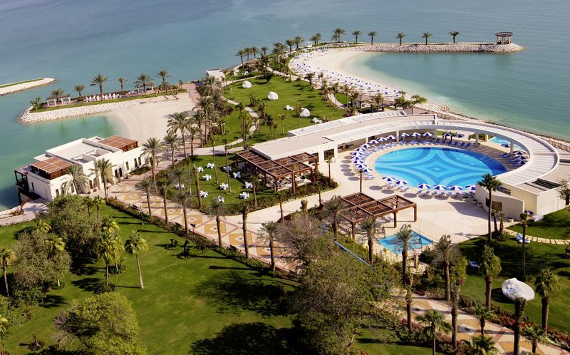 Sheraton Grand Doha Resort i Doha, Qatar.