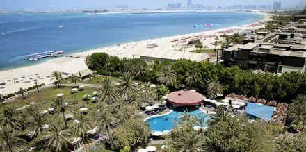Stranden ved Sheraton Jumeirah Beach Resort i Dubai, De Forenede Arabiske Emirater.