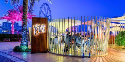 Bliss Loungebar på Sheraton Jumeirah Beach Resort i Dubai, De Forenede Arabiske Emirater.