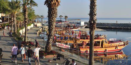 Havnen i Side i Tyrkiet.