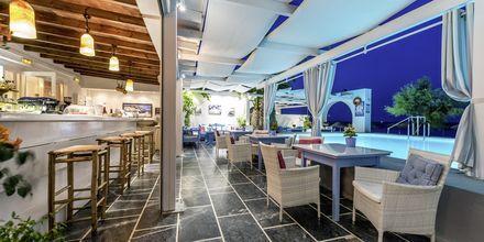 Restaurant på Hotel Sigalas på Santorini, Grækenland.