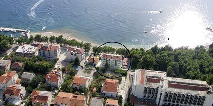 Hotel Simic i Makarska, Kroatien.
