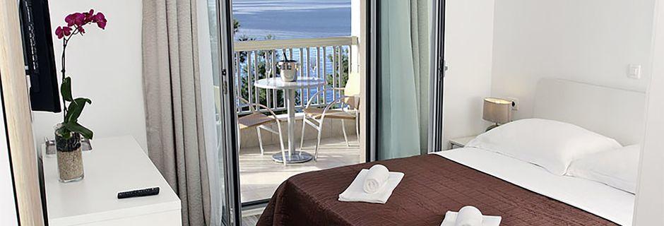 Dobbeltværelse på Hotel Simic i Makarska, Kroatien.