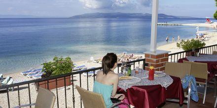 Restauranten på hotel Simic i Makarska, Kroatien.