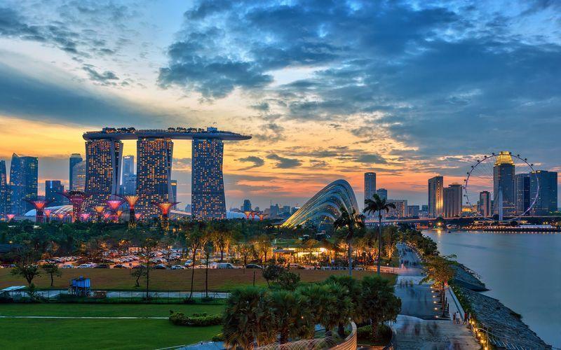 Singapore er Sydøstasiens mindste land.