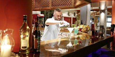 Bar på Sirena Residence & Spa på Samos, Grækenland