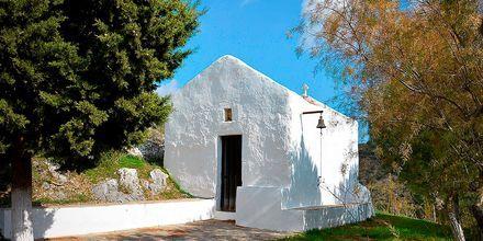 Kirke i Sitia på Kreta, Grækenland.