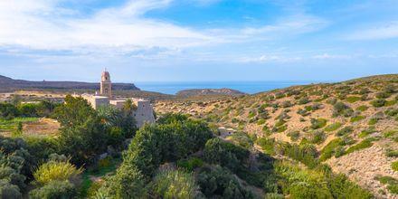 Tag på udflugt til Toplou-klostret, der stammer fra det tidlige 1500-tal.