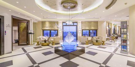 Lobby på Sivota Diamond, Grækenland.