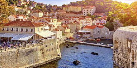 Den gamle by i Dubrovnik.