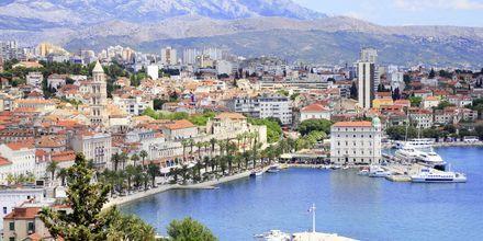 Split på Kroatiens fastland.
