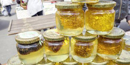 Lokal honning.