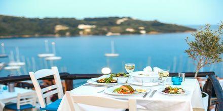 Restaurant i Skiathos by, Grækenland