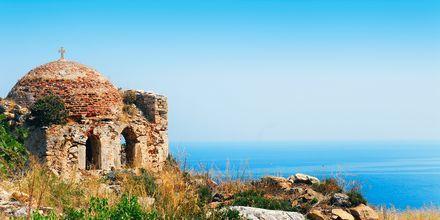 En af de smukke udsigter fra Skiathos i Grækenland.