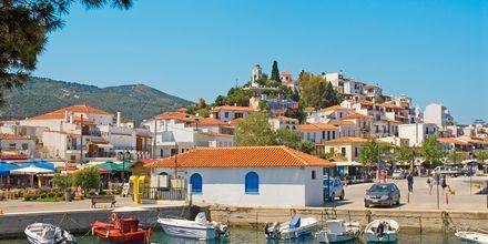 Smukke Skiathos by, Grækenland.