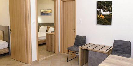 2-værelses lejlighed på Hotel Smaragda Beach i Votsalakia på Samos i Grækenland.