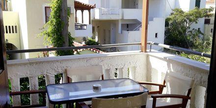 2-værelses lejlighed på Hotel Smaragda Beach i Votsalakia på Samos, Grækenland.