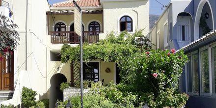 Hotel Smaragda Beach i Votsalakia på Samos, Grækenland.