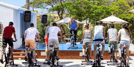 Træning på Sol Arona Tenerife på Tenerife, De Kanariske Øer, Spanien.