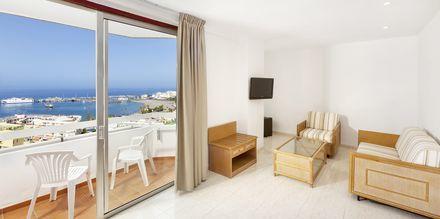 Junior-suite på Sol Arona Tenerife på Tenerife, De Kanariske Øer, Spanien.