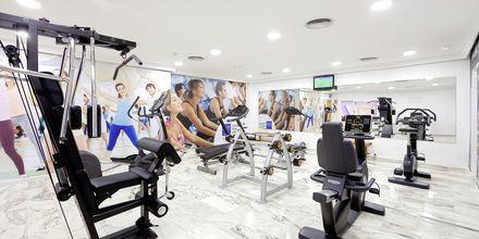 Lille fitness på Sol Arona Tenerife på Tenerife, De Kanariske Øer, Spanien.