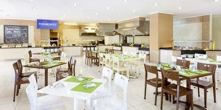 Buffetrestaurant på Sol Arona Tenerife på Tenerife, De Kanariske Øer, Spanien.