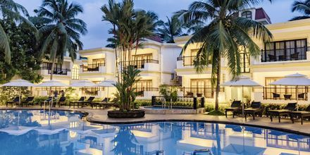 Poolen på Sonesta Inns i Goa i Indien.
