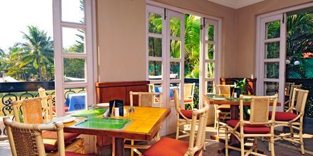 Coffee shop på Sonesta Inns i Goa i Indien.