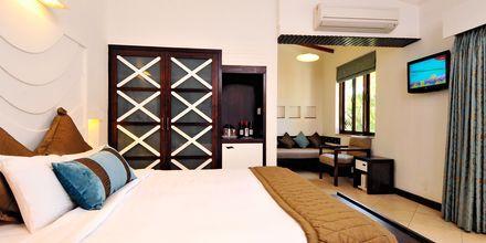 Dobbeltværelse på Hotel Sonesta Inns i Goa, Indien.