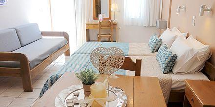 1 og 2-værelses lejligheder på Hotel Sonio Beach i Platanias på Kreta, Grækenland.