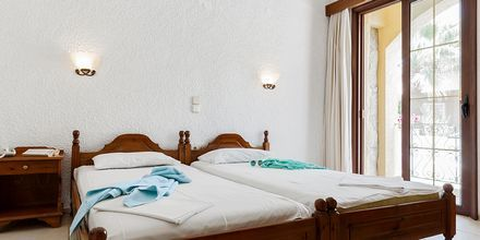 2-værelses lejlighed på Hotel Sophia Beach på Kreta, Grækenland.
