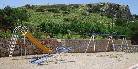 Legeplads på Hotel Sound of The Sea på Karpathos, Grækenland.