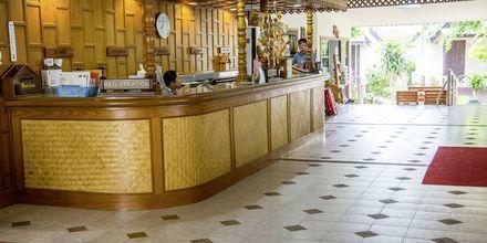 Reception på Hotel Southern Lanta Resort, Thailand.