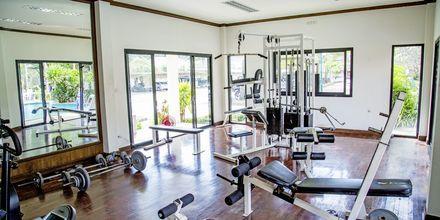 Fitnessrum på Hotel Southern Lanta Resort, Thailand.