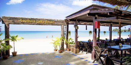 Strand ved Hotel Southern Lanta Resort, Thailand.