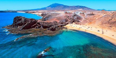 Papagayostrandene på Lanzarote, som klart er et besøg værd.