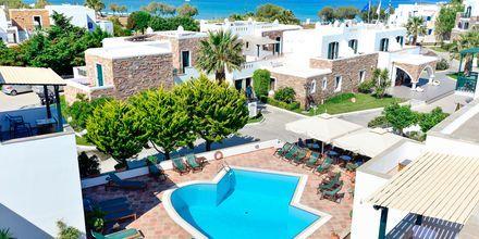 Udsigt ud over Hotel Spiros i Naxos by, Grækenland
