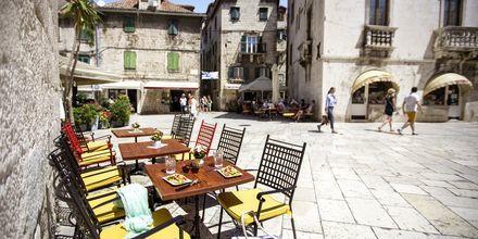 Split i Kroatien.