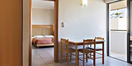 2-værelses lejlighed på Hotel St Constantine på Kos, Grækenland.