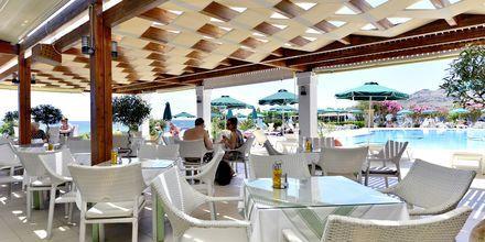Restaurant på Hotel St. James på Rhodos, Grækenland