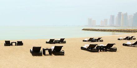 Privat strand på St Regis Doha i Doha, Qatar