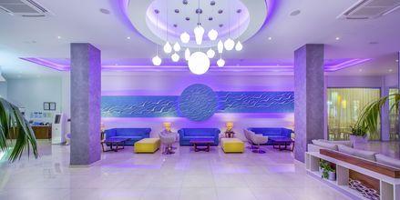 Lobbyen på hotel Stamatia, Ayia Napa.
