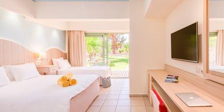 Familie-værelse på Hotel Star Beach Village & Waterpark i Hersonissos på Kreta.