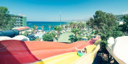 Vandparken på Hotel Star Beach Village & Waterpark i Hersonissos på Kreta.