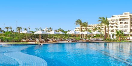 Poolområde på Steigenberger Al Dau Beach, Hurghada i Egypten.