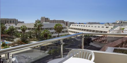 Udsigt på balkon på Stella Polaris Oro Blanco i Playa de las Americas, Tenerife.