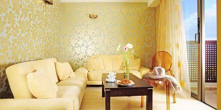 2-værelses lejlighed superior på Hotel Steris i Rethymnon by på Kreta, Grækenland.