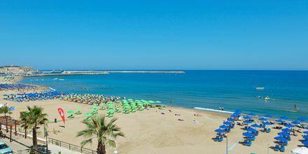 Stranden ved Hotel Steris på Kreta, Grækenland.