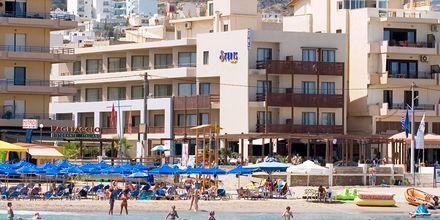 Hotel Steris i Rethymnon by på Kreta, Grækenland.