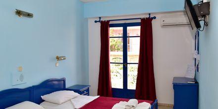 Enkeltværelser på hotel Stratos i Pythagorion på Samos, Grækenland